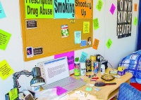 RALI trailer exhibit showing warning signs of teenage drug abuse hits home