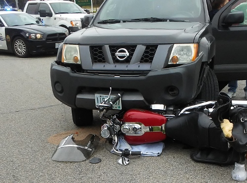 Rochester motorcyclist injured in collision with SUV