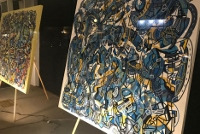 Abstract expressionist artist's work featured downtown