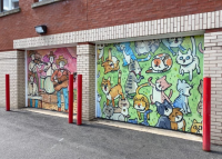 New murals now adorn several downtown locations