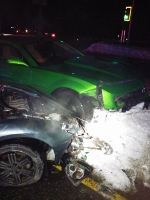 Monday night 3-car crash shuts down part of Route 11