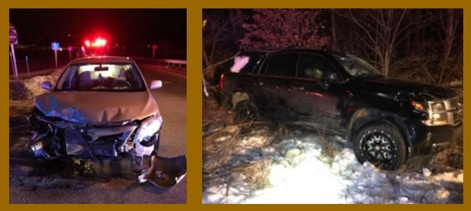 Woman ejected, seriously hurt in Farmington Road crash