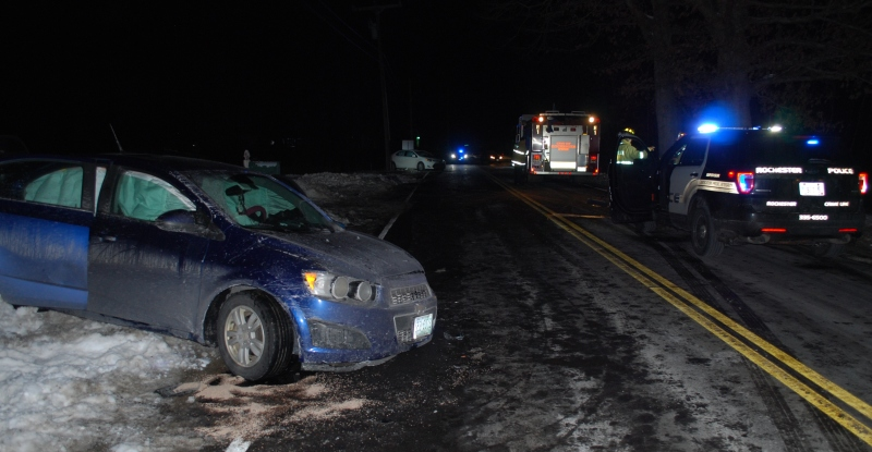 Three hurt, driver charged in 2-car crash on Pickering Rd.