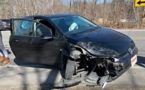 Newington man injured in three-car crash on Salmon Falls Road