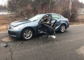 Elderly city woman among two hurt in Tuesday crash