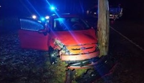 Woman nabbed for drunk driving after early morning crash