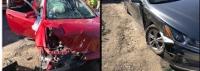 Two Berwick residents injured in crash at 4-way stop sign