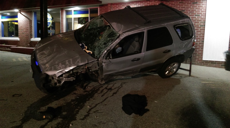 Rochester man badly hurt in North Main Street crash