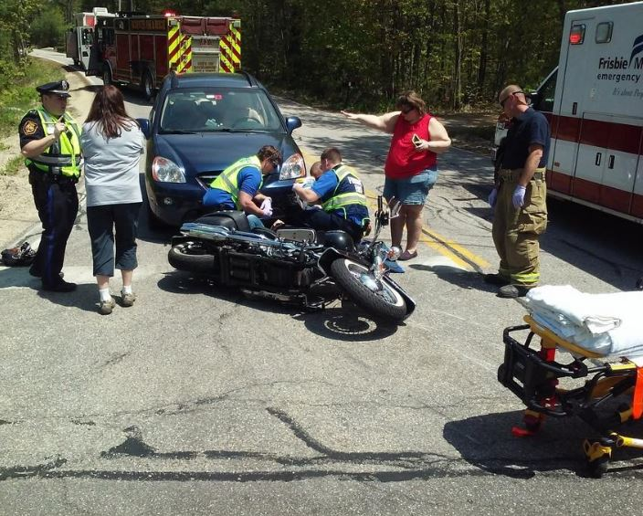 Farmington motorcyclist injured in Rochester  crash