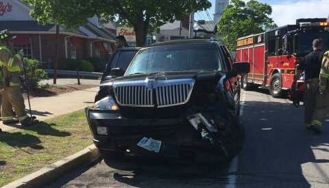 One city man injured, another cited in downtown crash