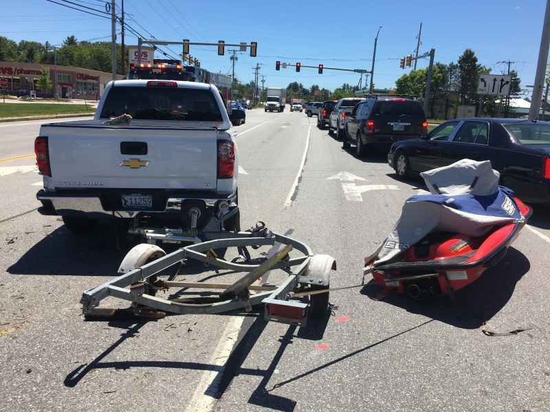Milton woman among injured in North Main St. crash