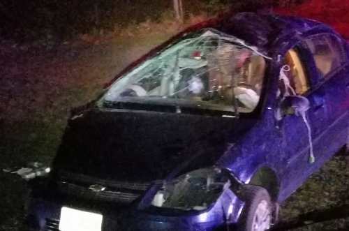 Farmington woman cited in Rochester rollover accident