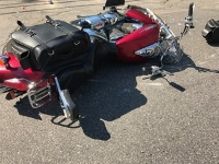 Rochester man cited in collision with motorcycle