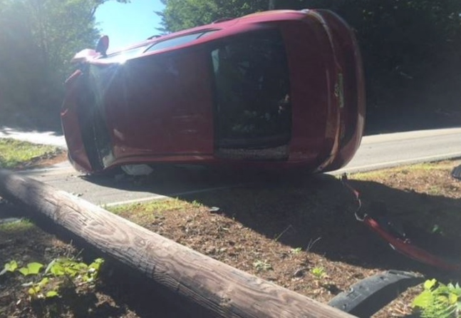 Drowsy driving said a factor in Governors Road rollover