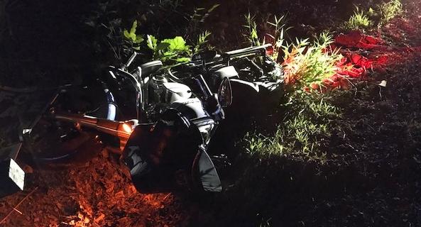 Rochester motorcyclist hurt in Chestnut Hill Rd. crash
