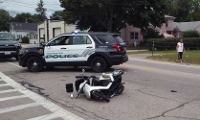 Elderly Rochester man on mobility scooter injured when he collides with SUV