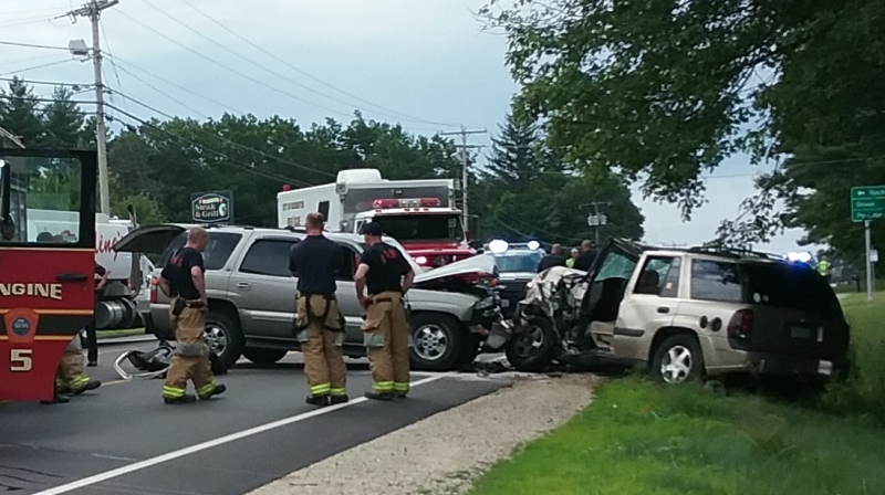 Man cited in two separate wrecks, including major Farmington Rd. head-on crash