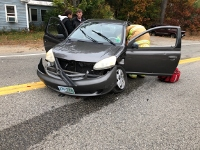 Elderly Rochester woman hurt in Milton Road collision