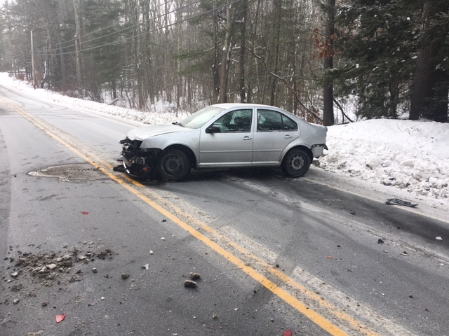 Snowy roads blamed on 3-car crash that left Lebanon child injured