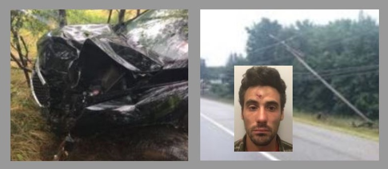 Durham man nabbed for DUI after crash into utility pole
