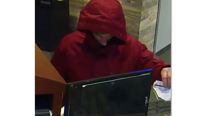 Police on hunt for suspect in Holy Rosary bank job