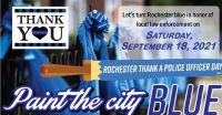 Citywide celebration in recognition of Rochester Poice set for Sept. 18