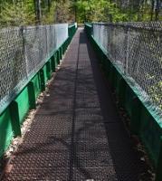 Hanson Pines footbridge replacement begins next week