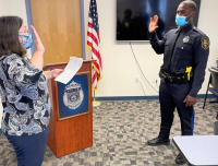 Rochester Police swear in new officer on Wednesday