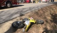 City motorcyclist charged with OAS after Sunday crash on Blackwater Road