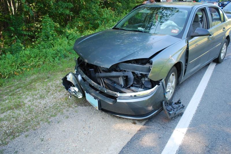 Three injured in two-car Washington Street collision