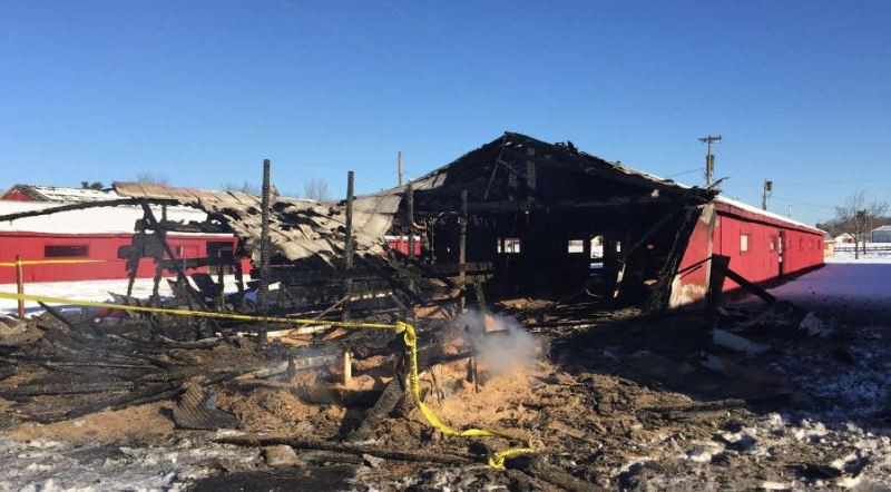 Cause of fairgrounds fire may never be known, fire marshal says