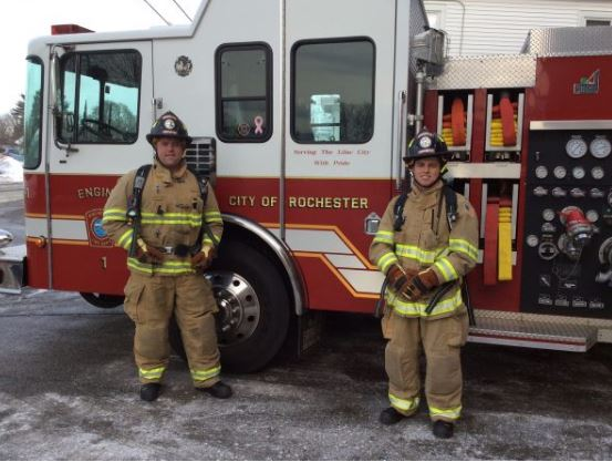 Rochester Fire hires two new firefighters, including one from Milton Fire
