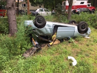 Speed blamed in Rochester rollover that injures 2 teens