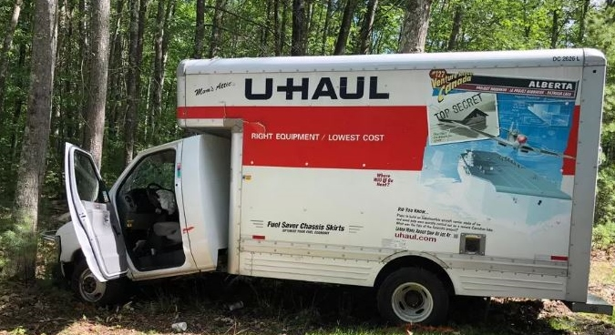 One dead, two injured as U-Haul truck crashes into tree on Chestnut Hill Road