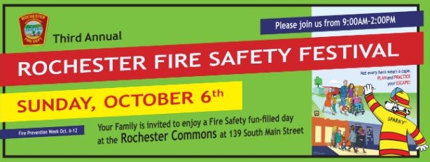 Rochester Fire renews tradition of annual safety festival on Oct. 6
