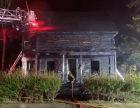 Charles Street home heavily damaged in Monday fire