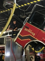 Emergency calls, equipment maintenance, training keep firefighters busy