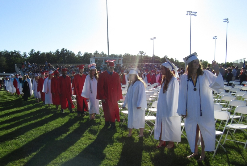 FUTURE'S SO BRIGHT: Spaulding Class of 2018 gets off to a sunny start