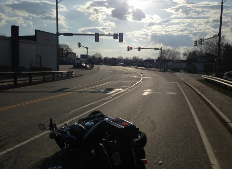 Rochester motorcyclist injured in downtown collision