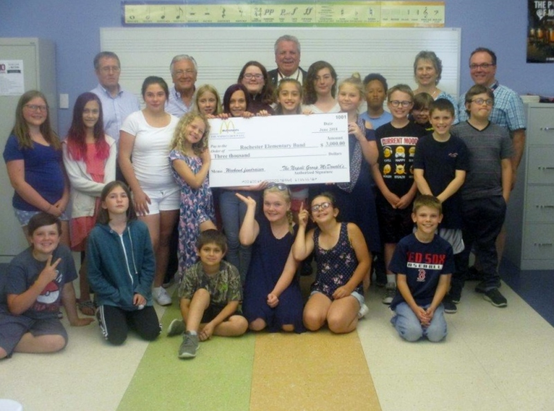 McDonald's fund-raiser to help elementary school bands ends on a high note