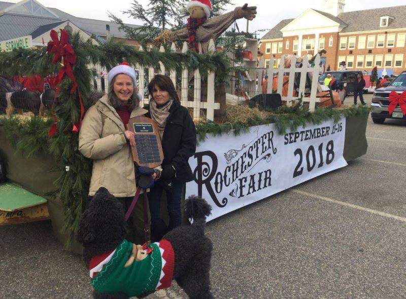 Rochester Fair float takes top honors at Christmas Parade