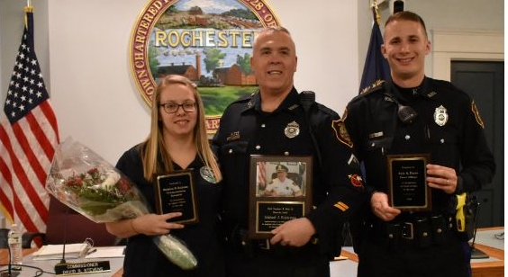 Husband, wife among honorees during annual Police Commission awards ceremony