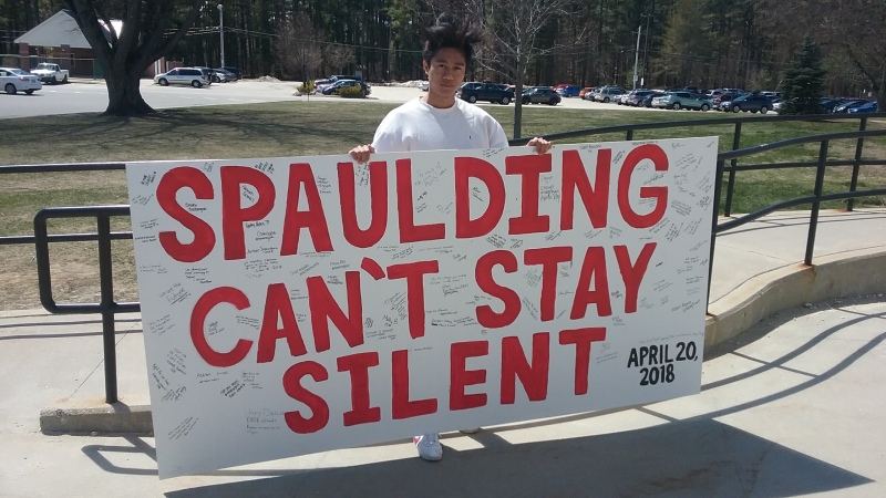 Press excluded from Spaulding walkout, but message still resonates