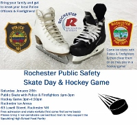 Public invited to free skate, pizza day at Rochester ice arena