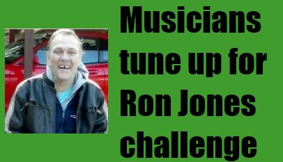 Band on the mend: Ron Jones readies for his comeback