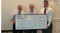 Rotary donates $2,400 to Spaulding students studying for Safran jobs
