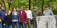 Rotarians take to city cemeteries to do some community cleanups