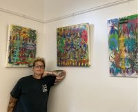 Artworks by Beth Wittenberg now on display at RPL