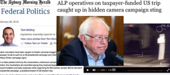 Activist's N.H. video leads to Sanders fine for OK'ing Aussies' help in 2016 primary
