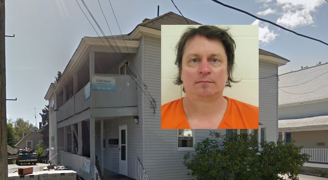 Sanford man accused of setting fire at apartment house where he lived